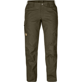Fjällräven Karla Pro Trousers Curved Women dark olive